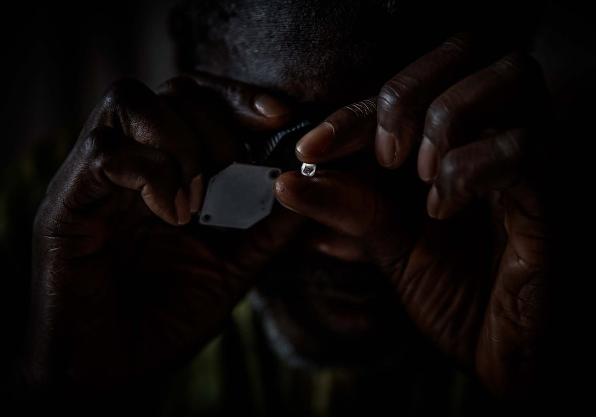 Diamanten, Sierra Leone, Blutdiamanten, Lupe
