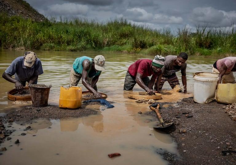 Diamanten, Sierra Leone, Blutdiamanten, Suche