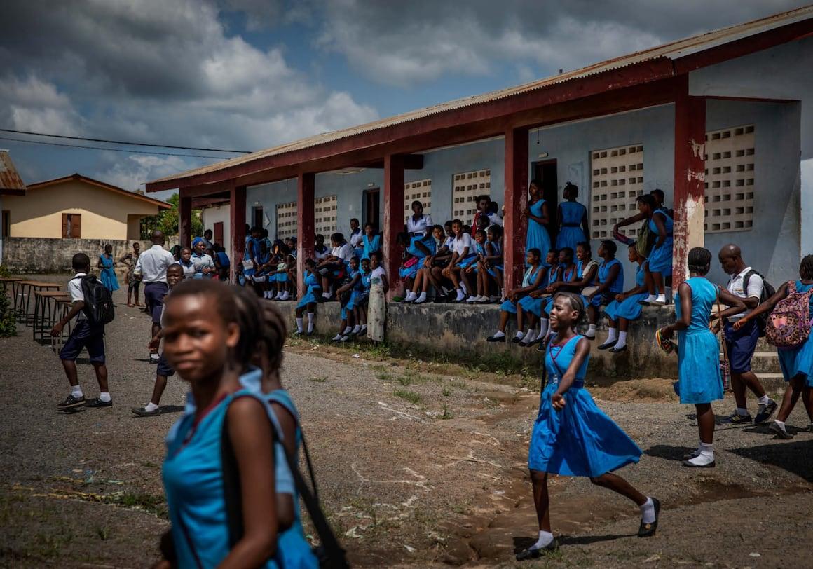 Diamanten, Sierra Leone, Blutdiamanten, Schule